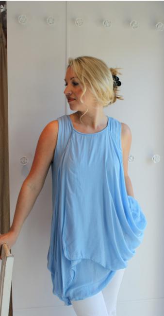 3d971823d70bc1 Lavender Blue Pure Silk Dress